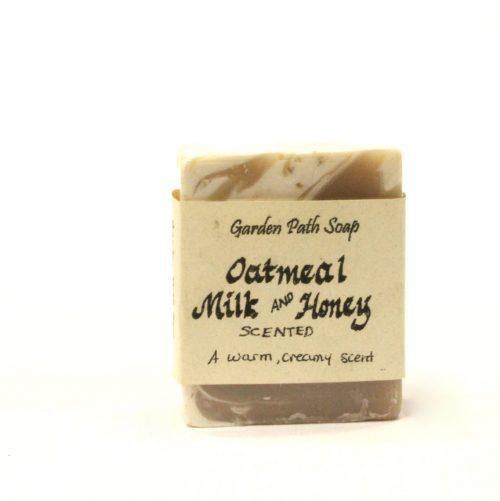 Handmade Soap - Oatmeal Milk and Honey Soap - Family Farm Quilts