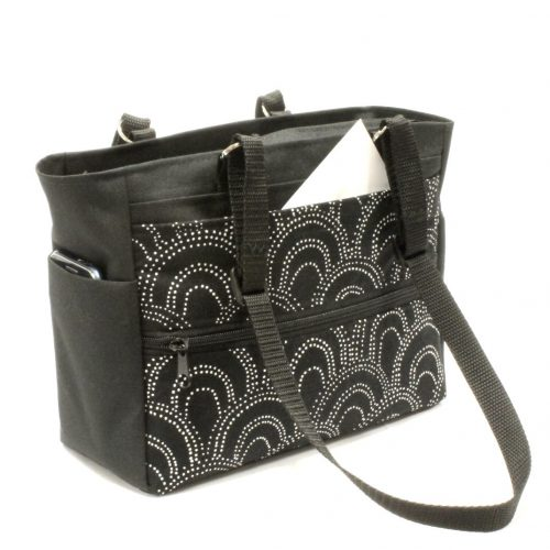 Purses for Sale - Black and White Purse