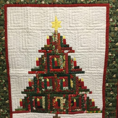 Family Farm Handcrafts-Wall Hanging-Christmas Tree Wall Hanging