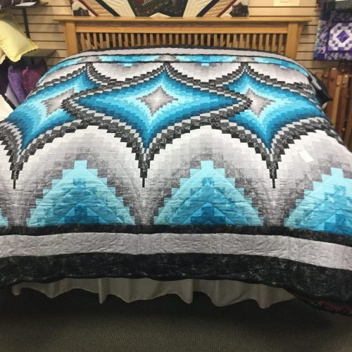 Argyle Quilt- King Sized- Family Farm Handcrafts