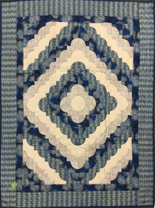 Ocean Wave Throw Quilt-Family Farm Handcrafts