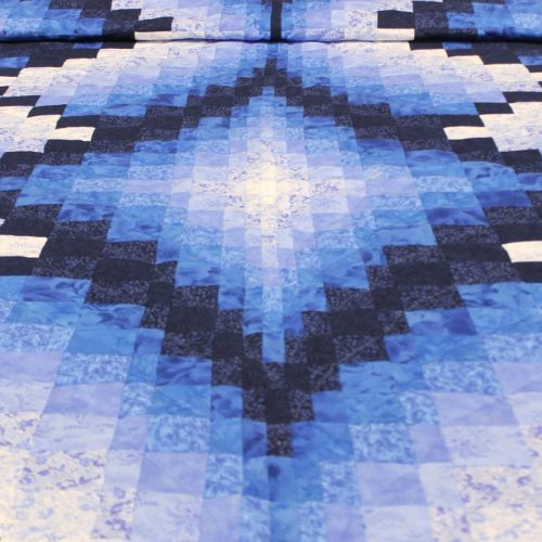 Blue quilt- Handmade quilts for sale - Family Farm Quilts of Shady Maple