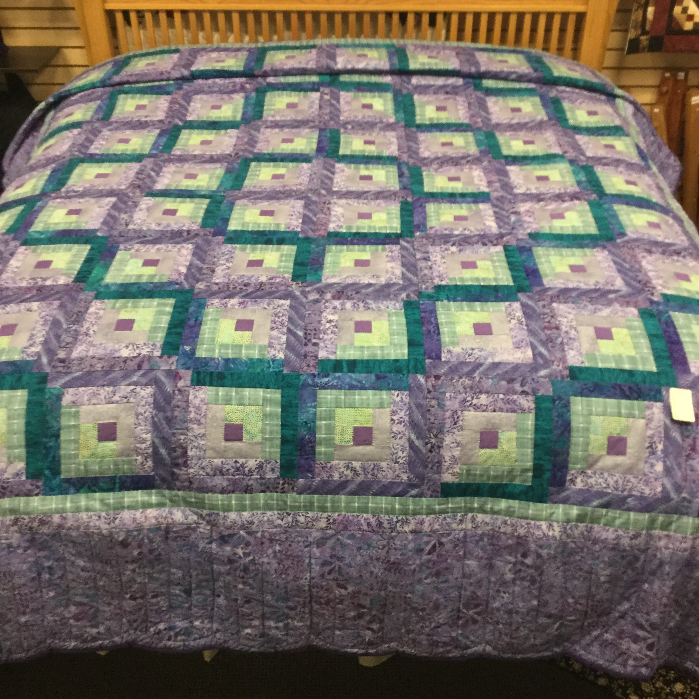 blue il floral for homemade quilts lap purple patchwork quilt green fullxfull listing sale