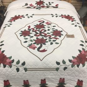 Celtic Rose Quilt-Queen-Family Farm Handcrafts