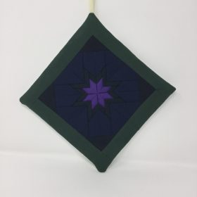 Folded Star Hot Mat-Family Farm Handcrafts
