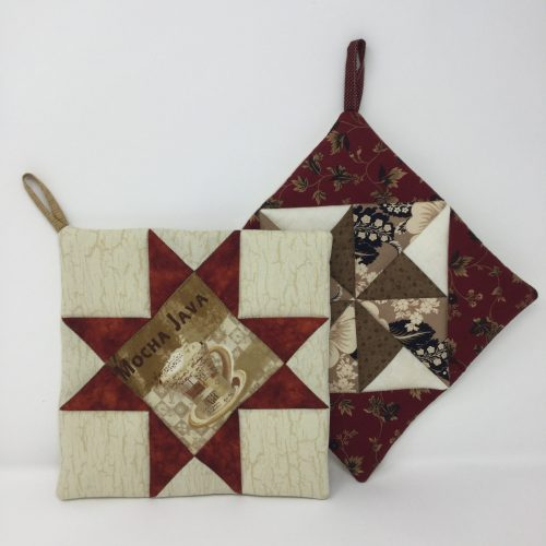 Patchwork Potholder-Family Farm Handcrafts