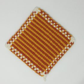 Woven Potholder-Family Farm Handcrafts