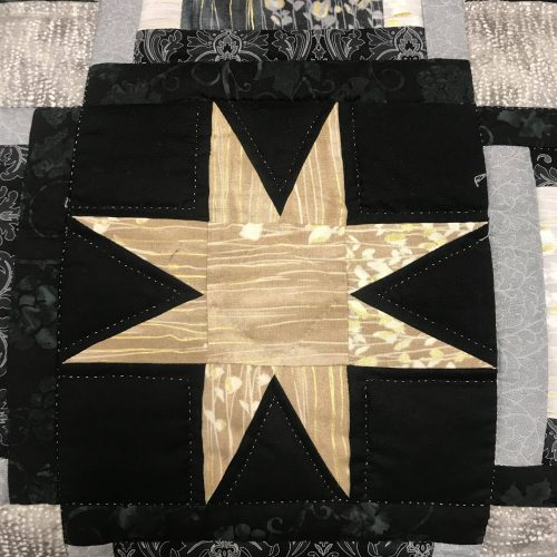 Eight Point Star Quilt - King- Family Farm Handcrafts