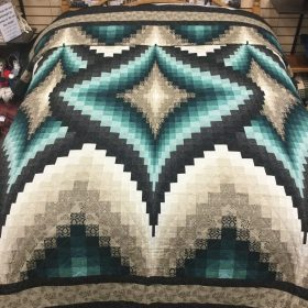 Argyle Quilt-Queen-Family Farm Handcrafts