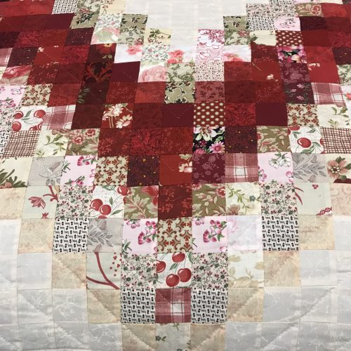 Linking Hearts Quilt-Queen-Family Farm Handcrafts