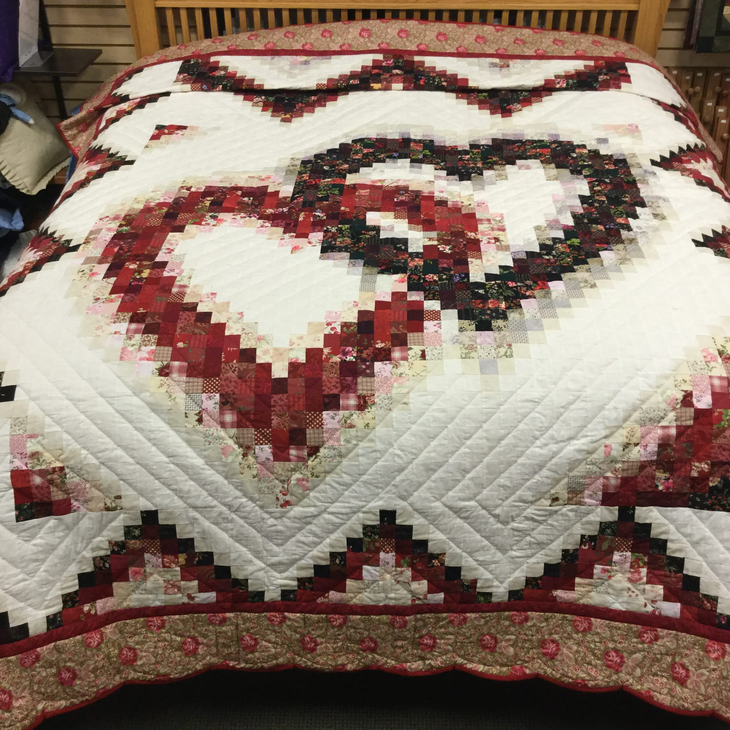Linking Hearts Quilt Family Farm Handcrafts King