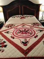 Log Cabin Quilt-Queen 6