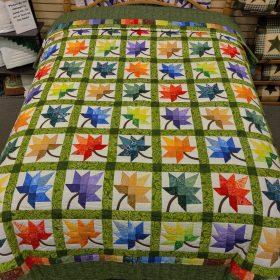 Autumn Splendor Quilt - Queen - Family Farm Handcrafts