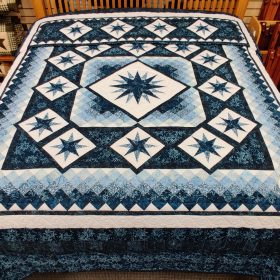 Starry Night Quilt - King - Family Farm Handcrafts