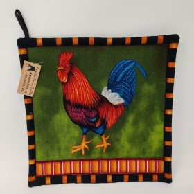 Rooster Hot Mat - Family Farm Handcrafts