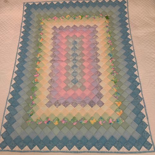 Boston Commons Baby Quilt - Family Farm Handcrafts