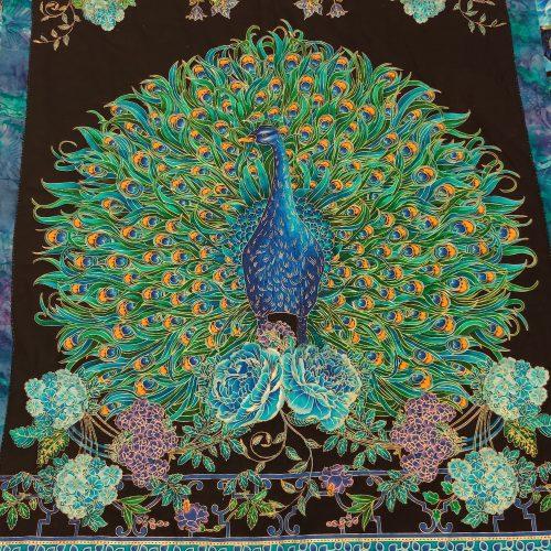 Peacock Quilt - Queen - Family Farm Handcrafts