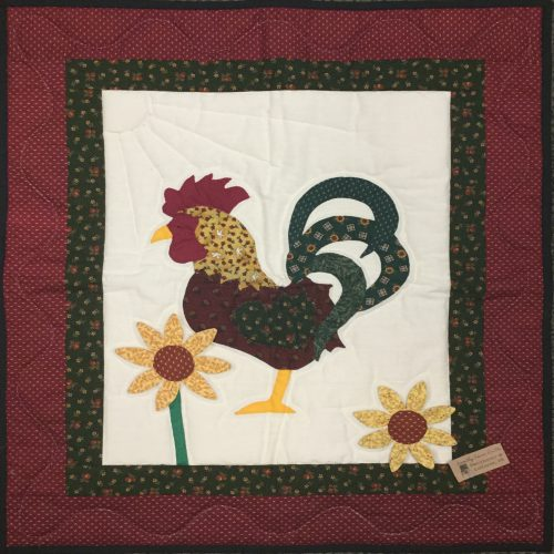 Rooster Wall Hanging-Family Farm Handcrafts