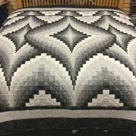 Argyle Quilt-King-Family Farm Handcrafts