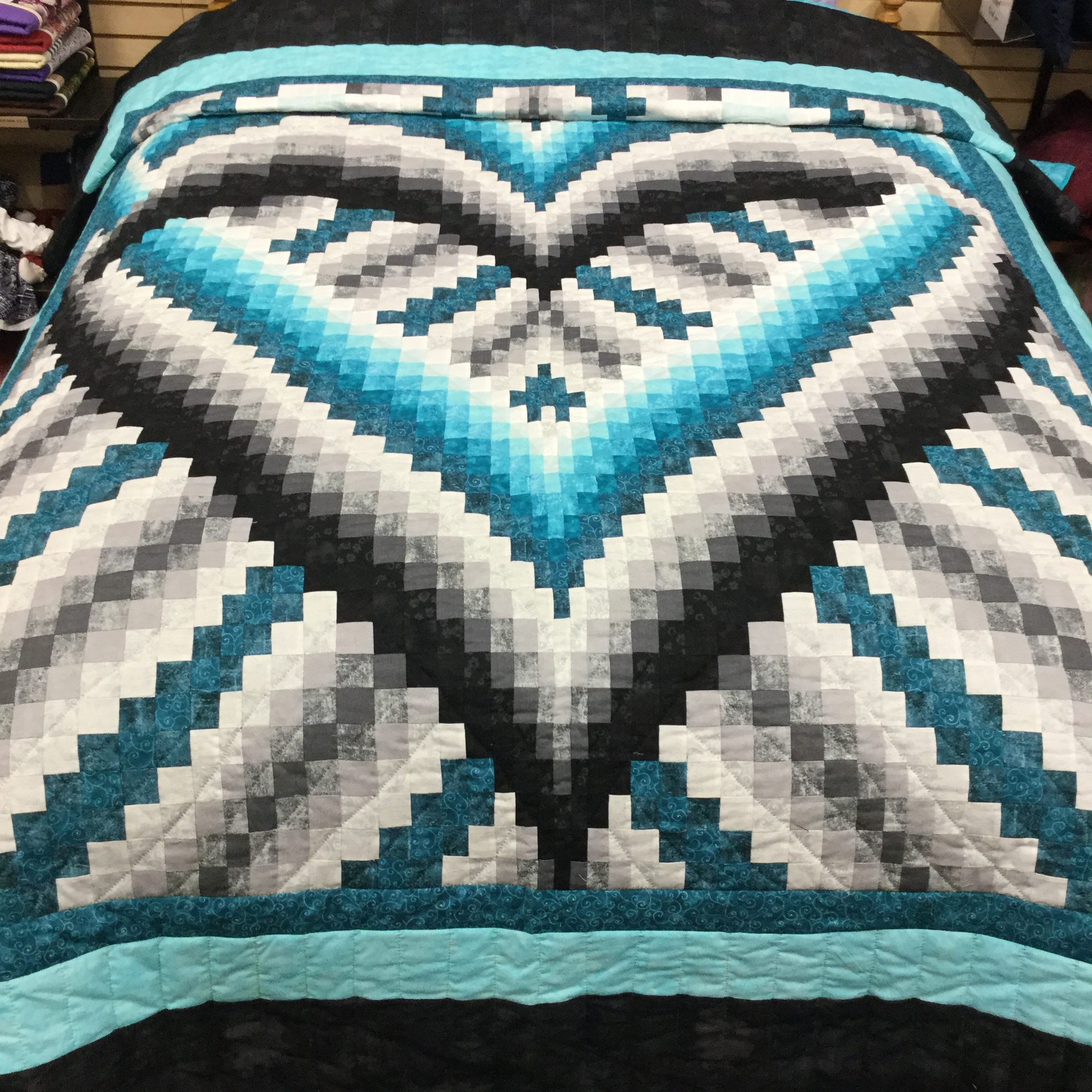 Love Within Quilt-Queen-Family Farm Handcrafts