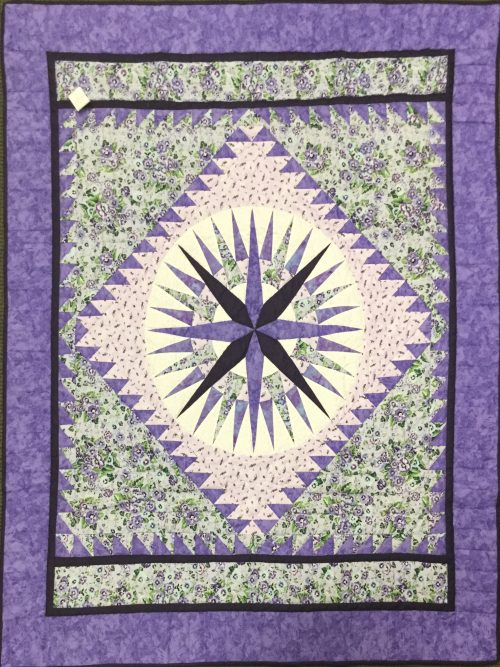 Mariner's Compass Throw-Family Farm Handcrafts