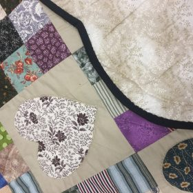 Country Hearts Quilt-King-Family Farm Handcrafts