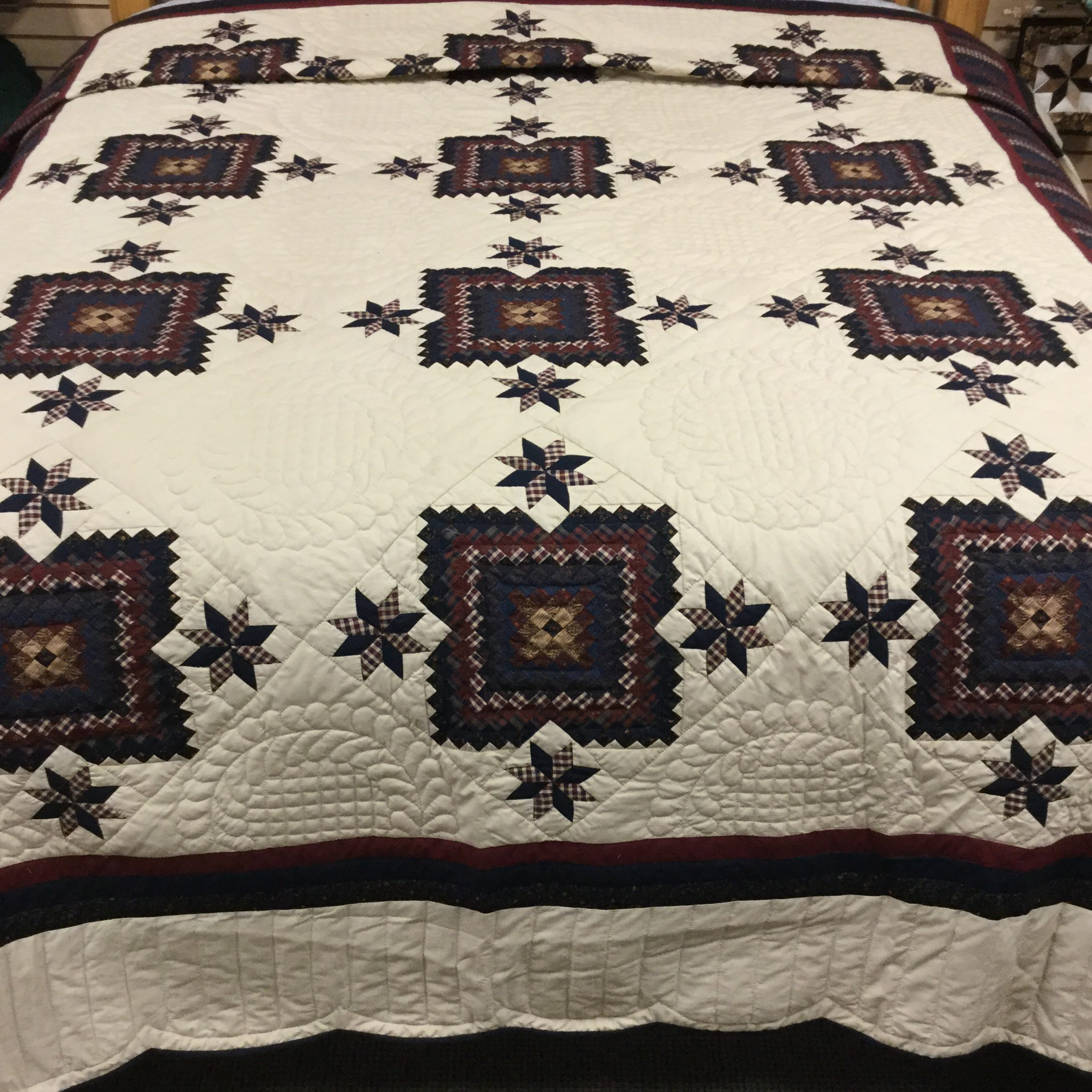 Lincoln Quilt-King-Family Farm Handcrafts