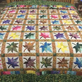 Autumn Splendor Quilt-King-Family Farm Handcrafts