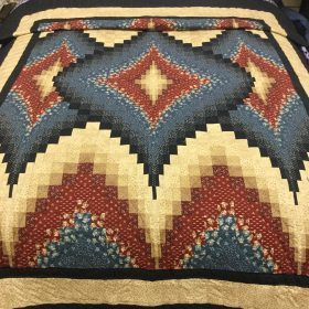 Argyle Quilt-Twin-Family Farm Handcrafts