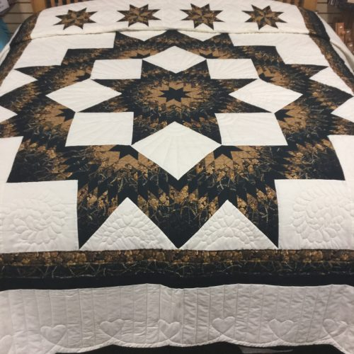 Broken Star Quilt-King-Family Farm Handcrafts