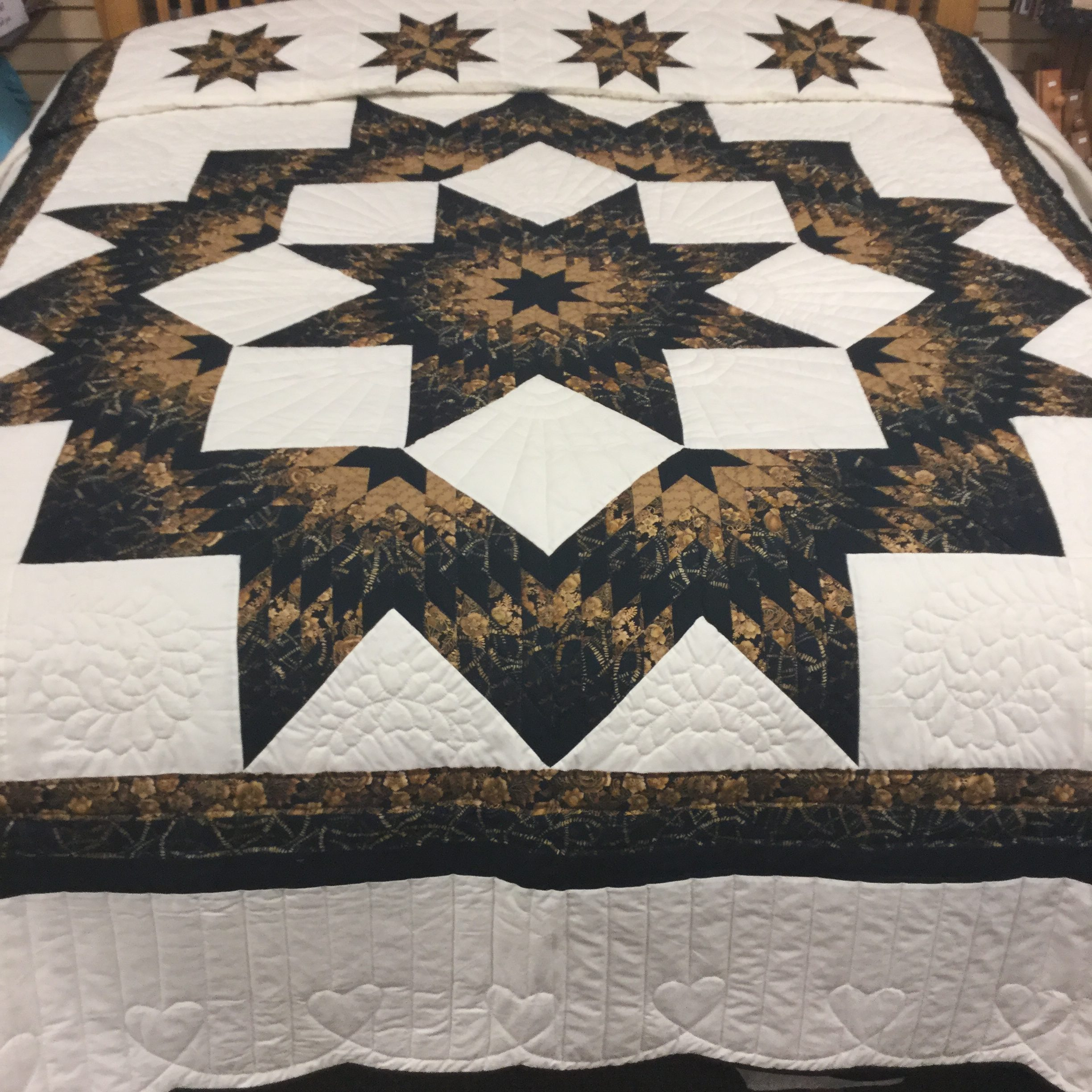 Homemade Quilts For Sale >> Broken Star Quilt | King | Family Farm Handcrafts | Handmade