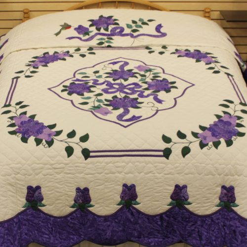 Celtic Rose Quilt - queen Quilt - Family Farm Quilts of Shady Maple