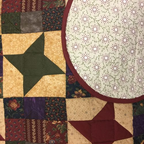 Ancient Star Quilt-King-Family Farm Handcrafts