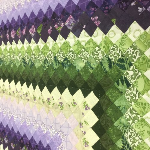 Postage Stamp Quilt-Queen-Family Farm Handcrafts