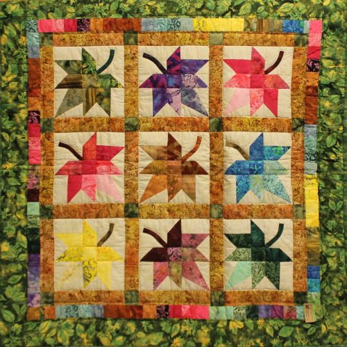 Autumn Splendor Wall Hanging for Sale - Family Farm Quilts of Shady Maple