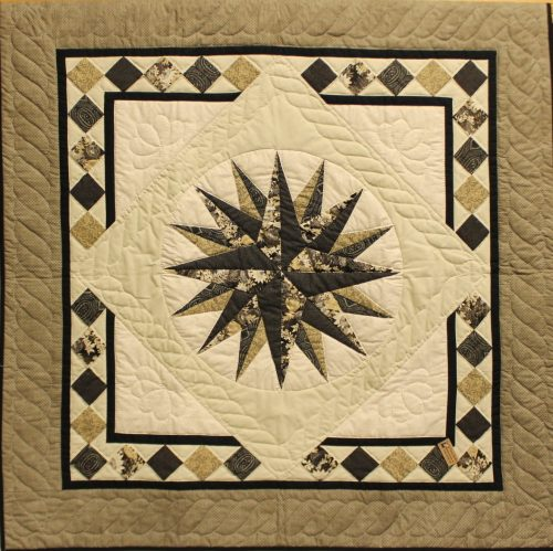 Wall Hangings for sale - Black Tie Affair Wall Hanging for Sale - Family Farm Quilts of Shady Maple
