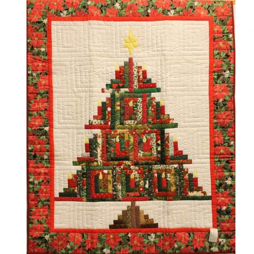 Christmas Tree Wall Hanging for Sale - Christmas Wall Hangings - Family Farm Quilts of Shady Maple
