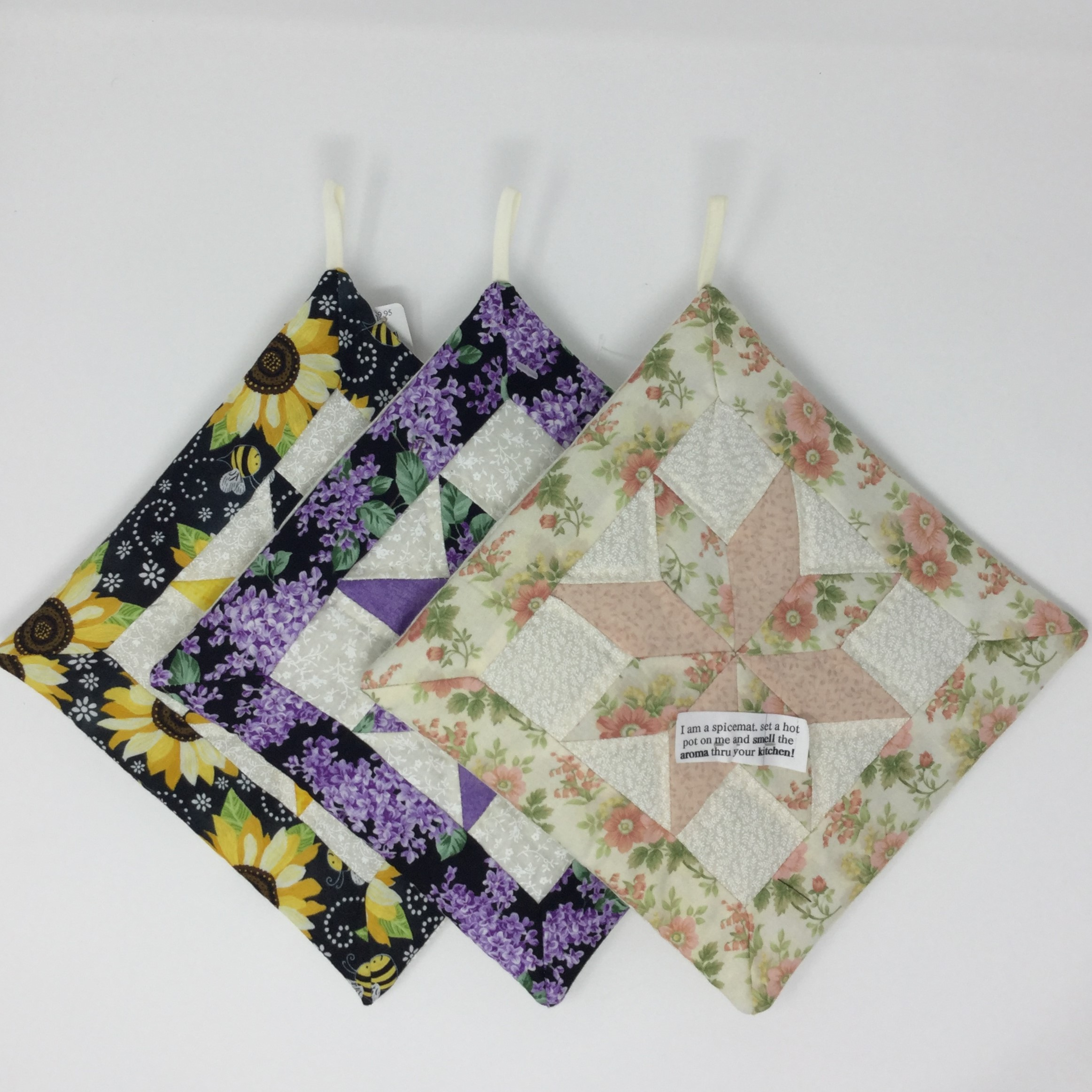 Quilted Star Potholder-Family Farm Handcrafts