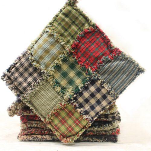 Spice Mat - Primitive Rag Spice Mat - Family Farm Quilts