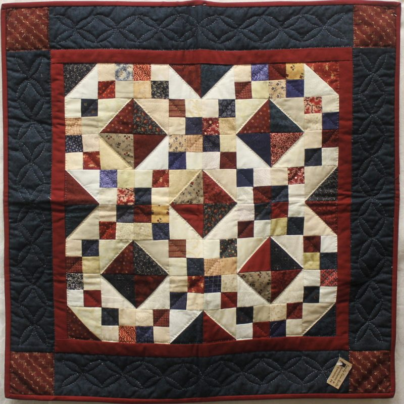 Amish Quilts Wall Hanging in PA