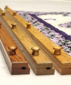 """Quilt hangers wooden- 58"""""""
