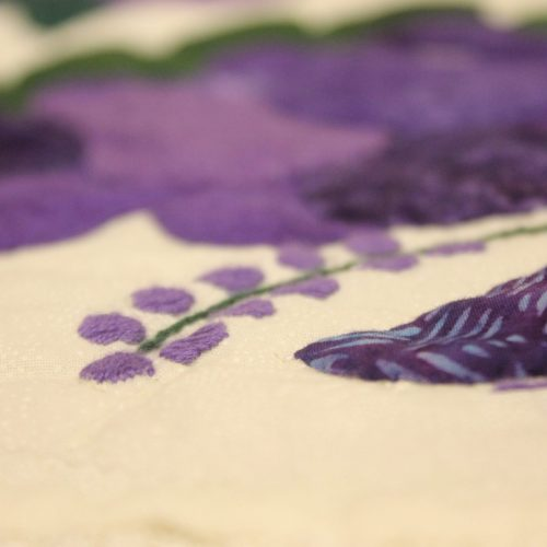 Lacy Heart of Rose Quilt for sale - Family Farm Quilts