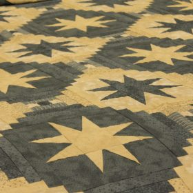 Star Quilt for Sale - Slate blue quilt for sale - Family Farm Handcrafts