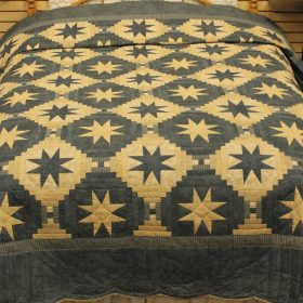 Amish star quilts - Eight-point Star quilt - Family Farm Handcrafts