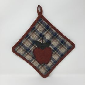 Appliqued Potholder-Family Farm Handcrafts
