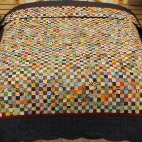 Granny Squares Quilt - Cotton Quilts for Sale - Family Farm Handcrafts