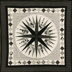 Mariner's Compass Wall Hanging-Family Farm Handcrafts