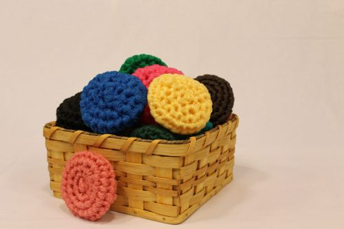 Family Farm Handcrafts-Crafts-Pot Scrubbie