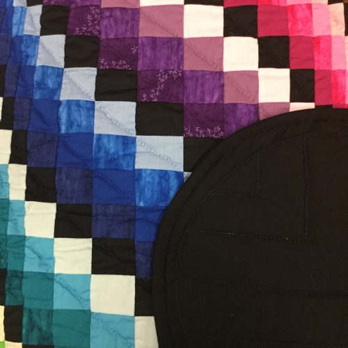 Bargello Wave Quilt-Queen-Family Farm Handcrafts