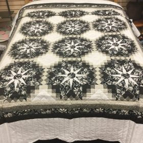 Shadow Star Quilt-Queen-Family Farm Handcrafts